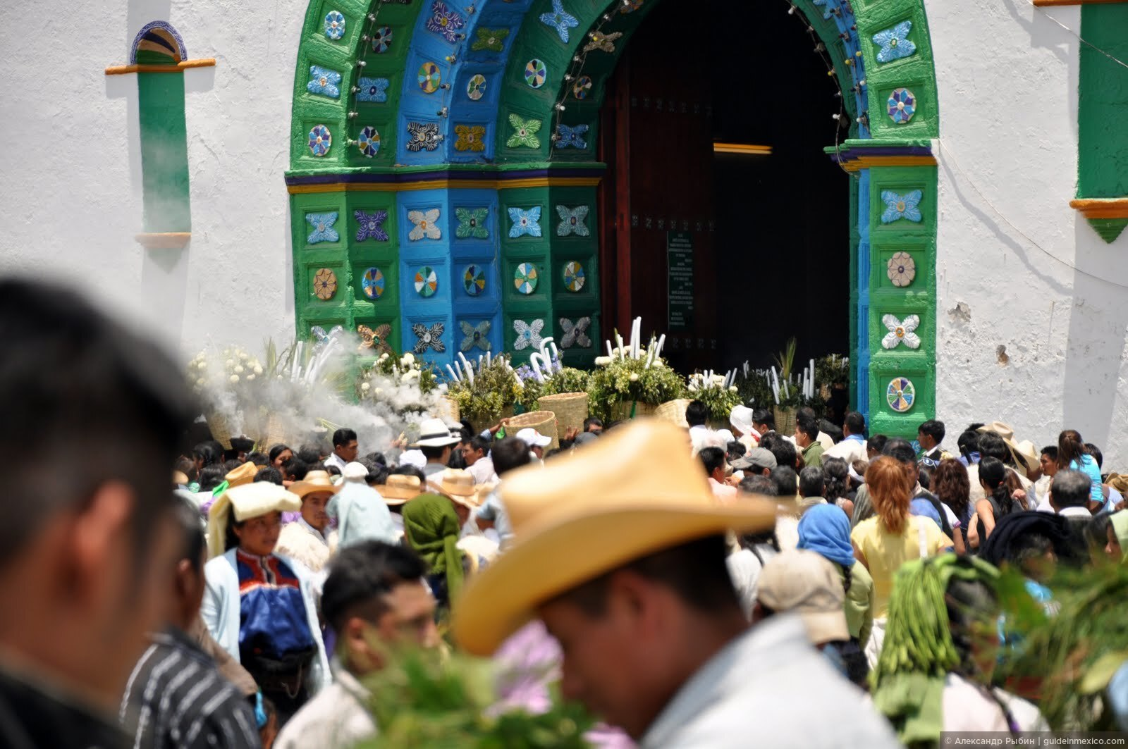 Хотите поучаствовать в настоящем празднике майя? Приезжайте в Сан Хуан Чамулу 24 июня!