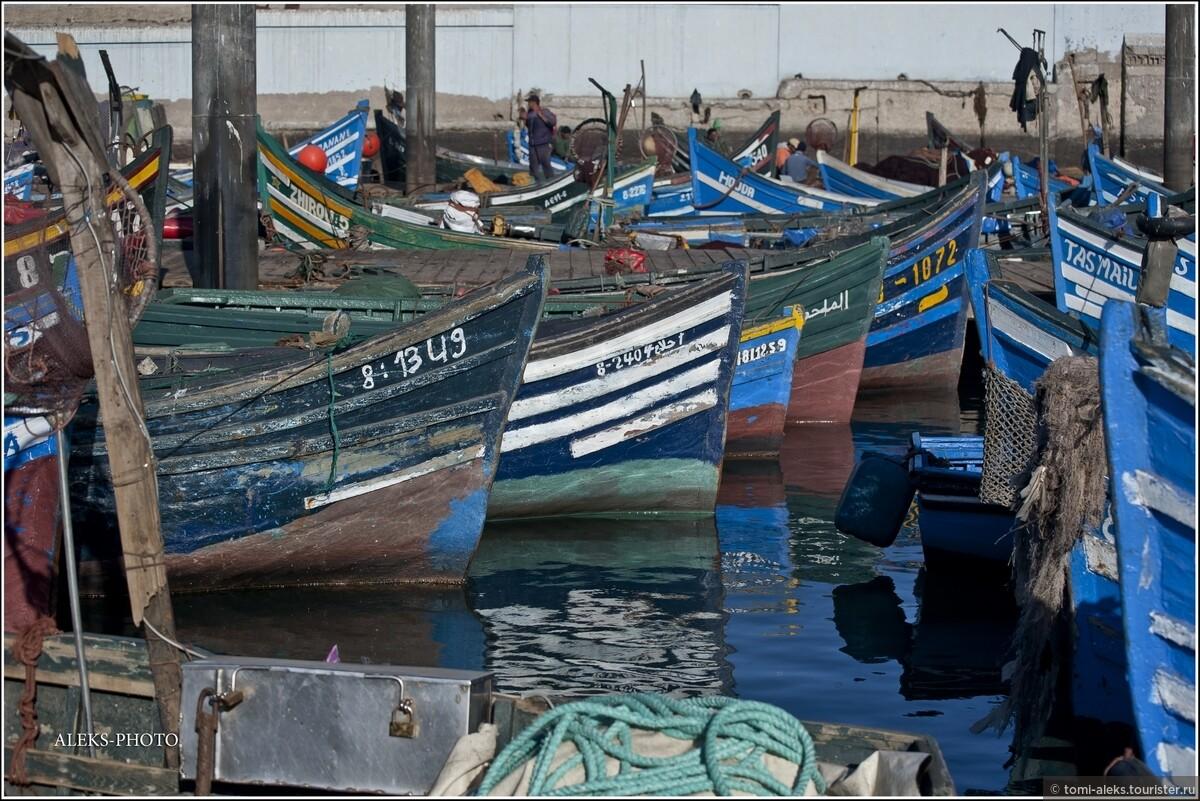 "Фото из альбома ""2. В океане синих лодок (Марокко)"", Агадир, Марокко"