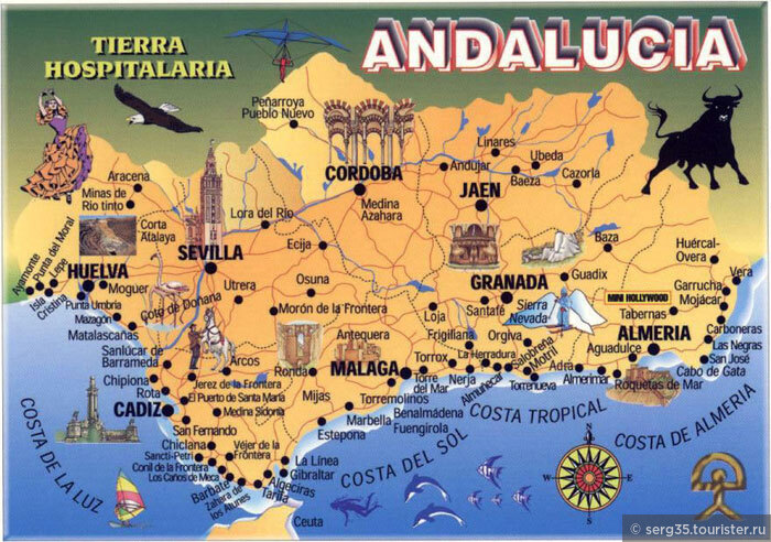 Аликанте достопримечательности на карте испании
