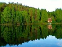 Остров Корпоо и озеро Валкайнен