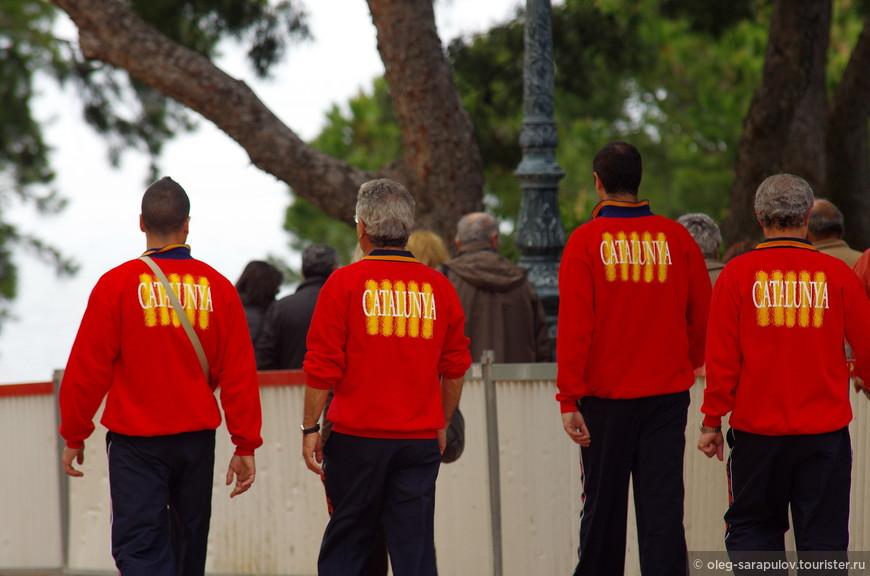 Сразу видно -каталанцы!