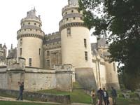 Франция Замок Пьерфон 2009