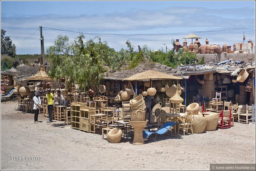 Еще изделия умельцев. Хандмейд в Марокко очень даже разнообразный.