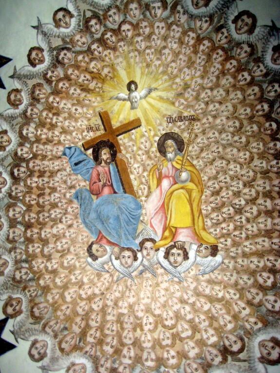 Роспись Антониева Монастыря - Святая Троица