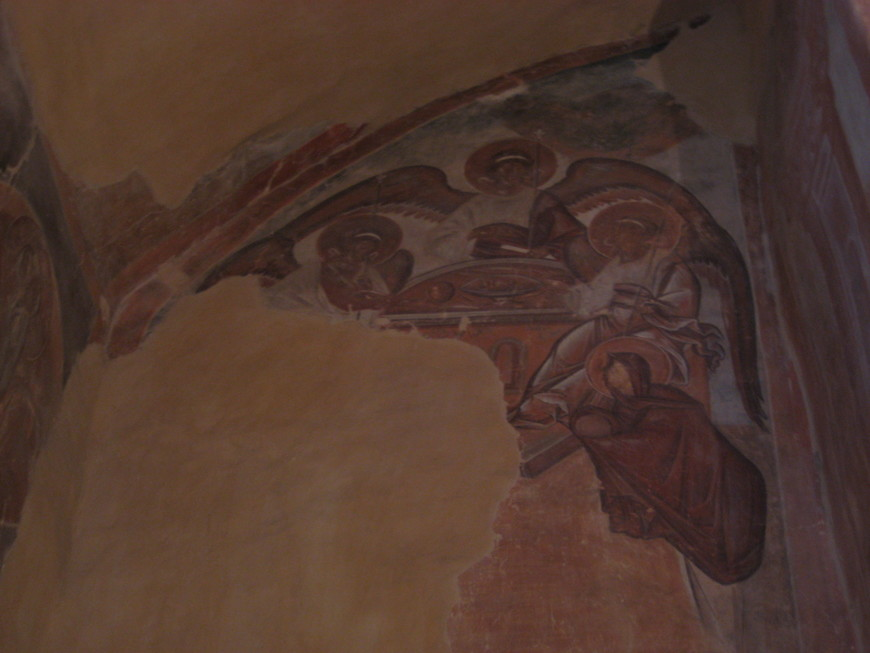 Ветхозаветная Троица - фреска Феофана Грека