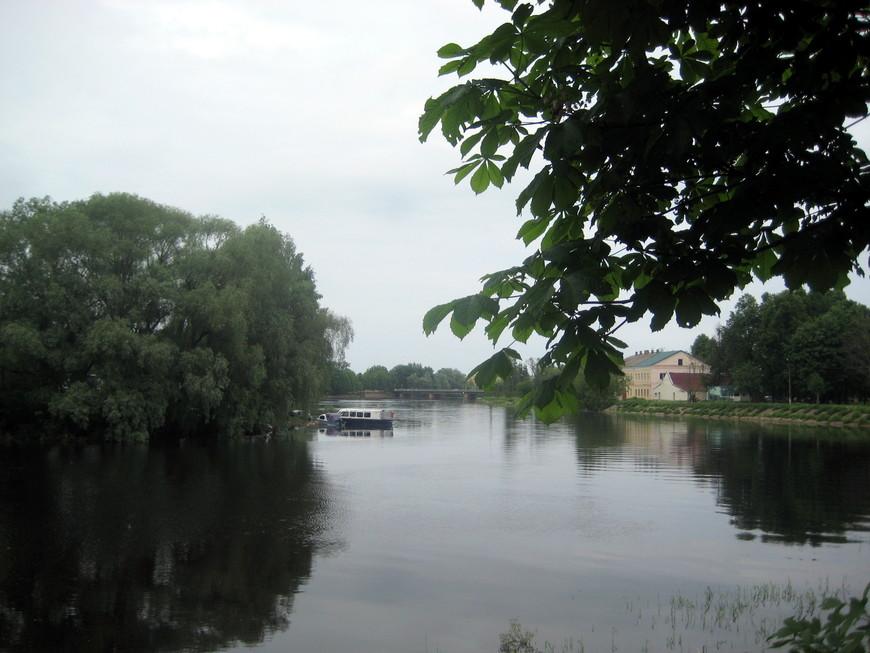 Речка Полисть (Старая Русса)
