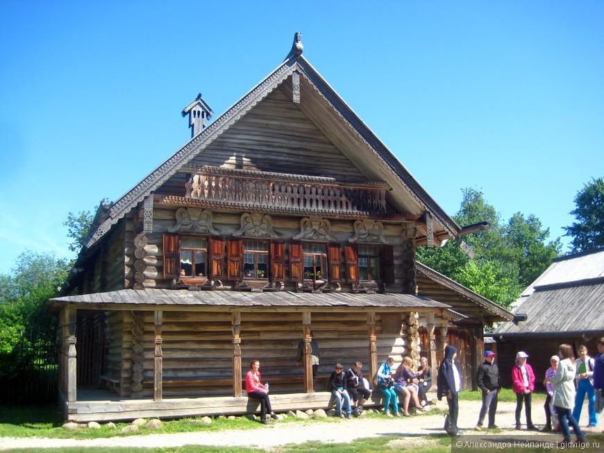 Витославлицы - музей народного деревянного зодчества