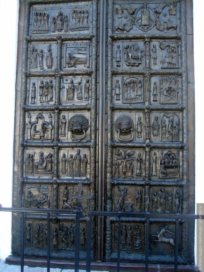 Знаменитые Магдебургские (Плоцкие) врата