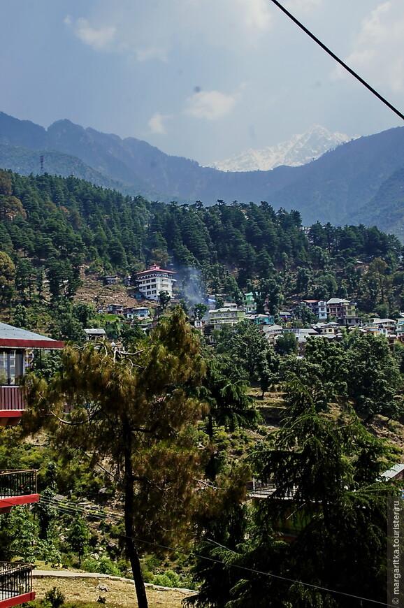 Дхарамсала городок на западном хребте средней части Гималаев