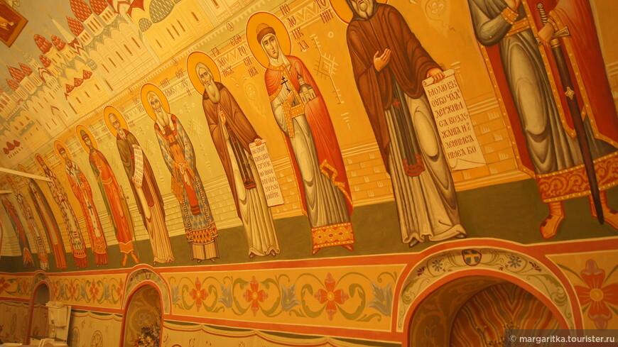 Трапезная Высоко-Петровского мужского монастыря