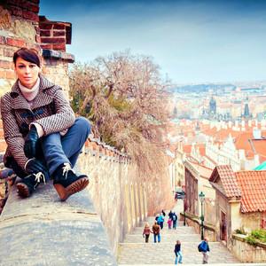 Zlata Praha: желто-красные зарисовки