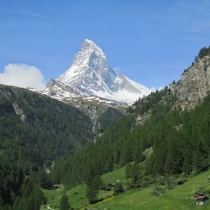 Zermatt, Klein Matterhorn, Gornerschlucht