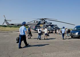 Как я летал на военном вертолете (Воронеж)