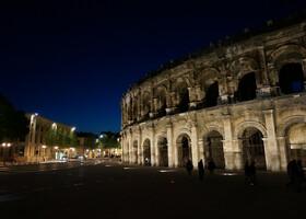 Большие римские игры в Ниме, начало