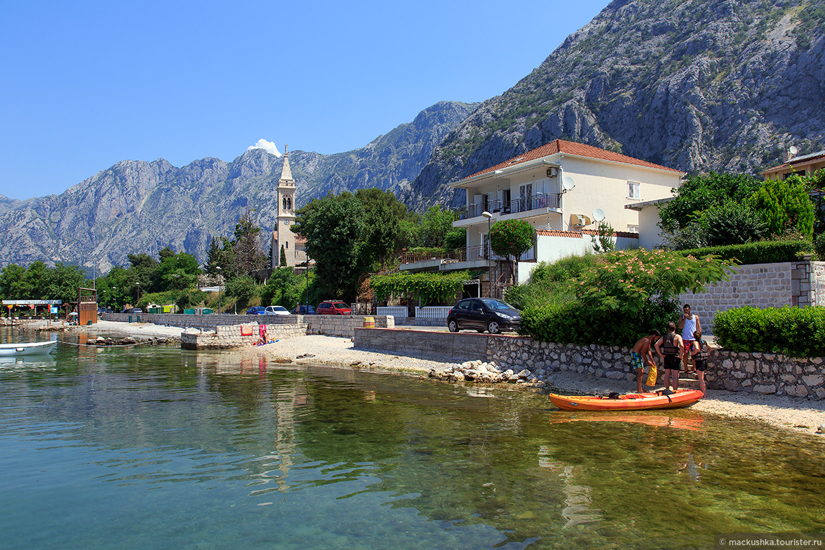 Доброта черногория фото пляжей