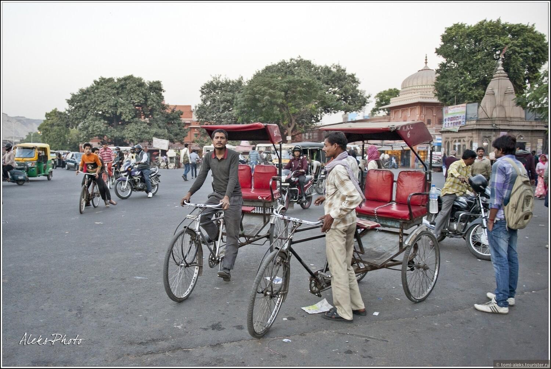 """Фото из альбома """"Жизнь вечернего Джайпура (Индия)"""", Джайпур, Индия"""