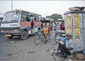 Жизнь вечернего Джайпура (Индия)