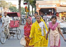 Простые люди Джайпура (Индия)