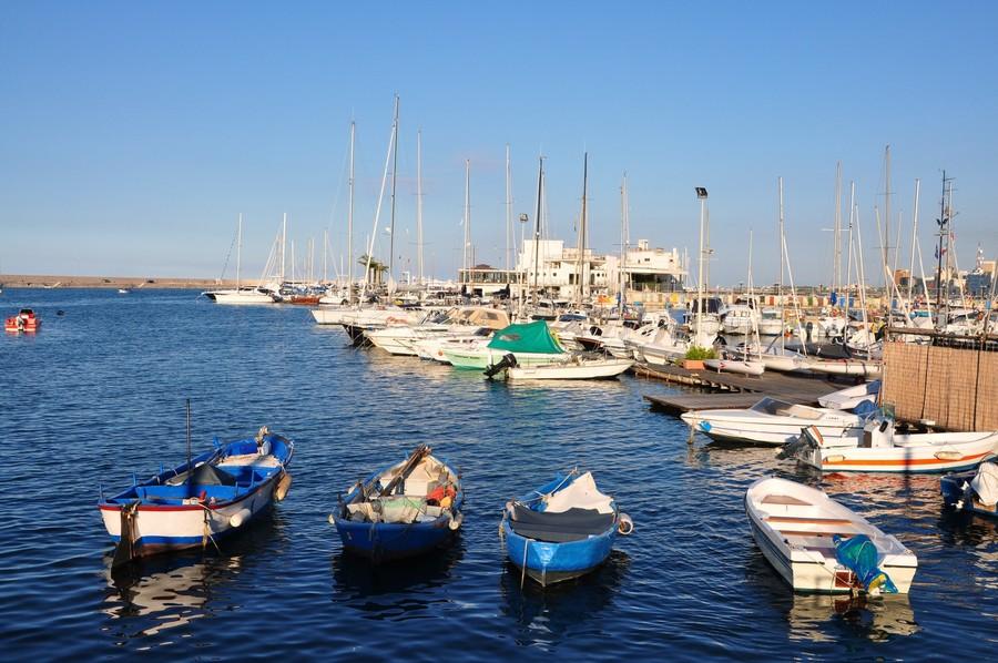 Порт в италии