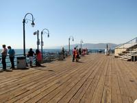 Santa Monica, побережье, Лос-Анджелес