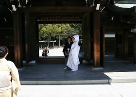 Японские свадьбы
