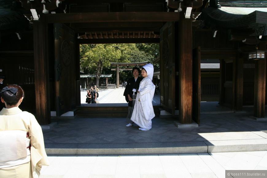 Свадьба в древнем храме