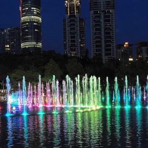 Прогулка по вечернему К-Лумпуру