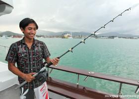 Рыбалка для больших компаний