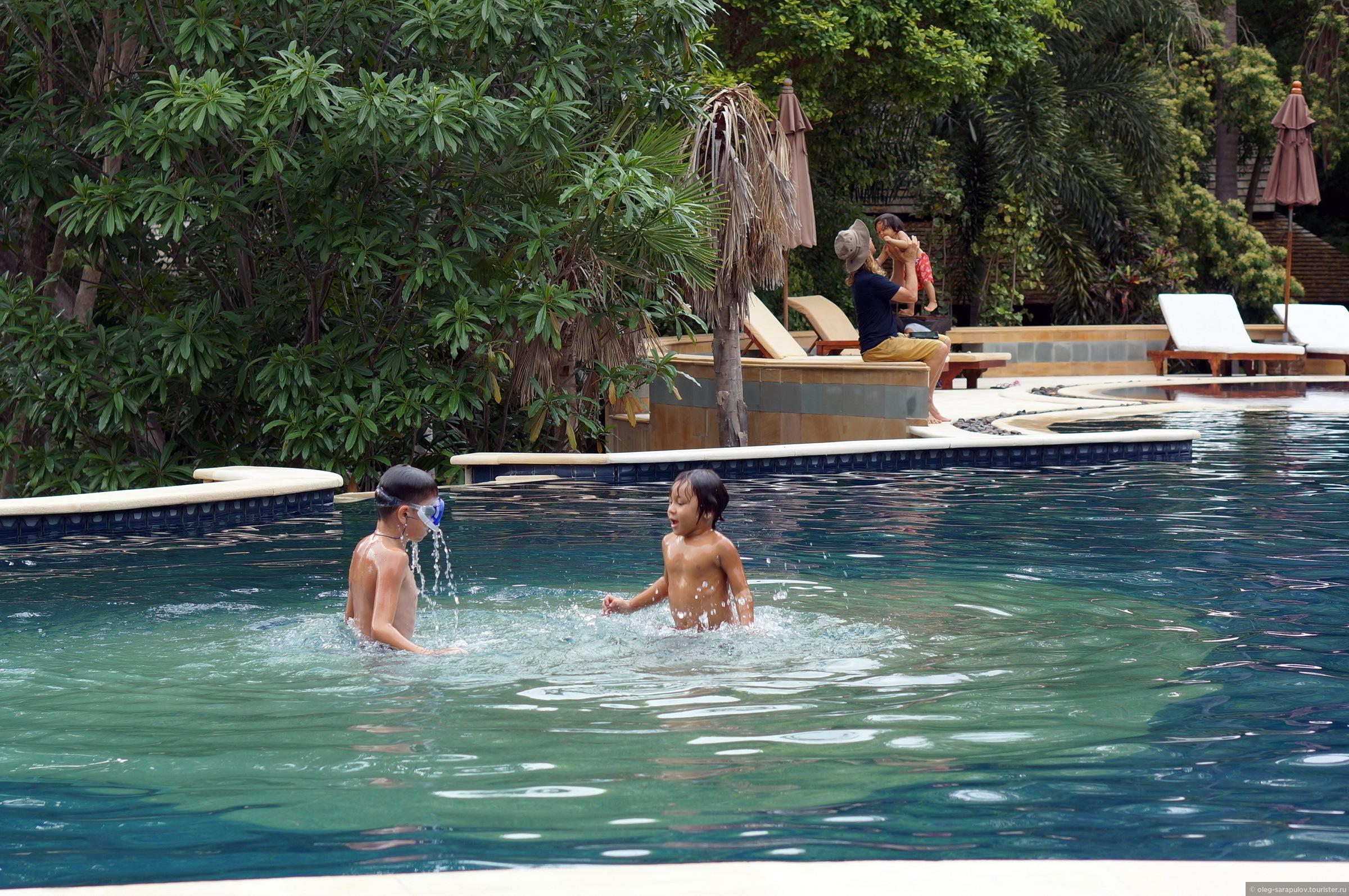 Бассейн отеля Sensi Paradise Beach Resort, Koh Tao, Thailand