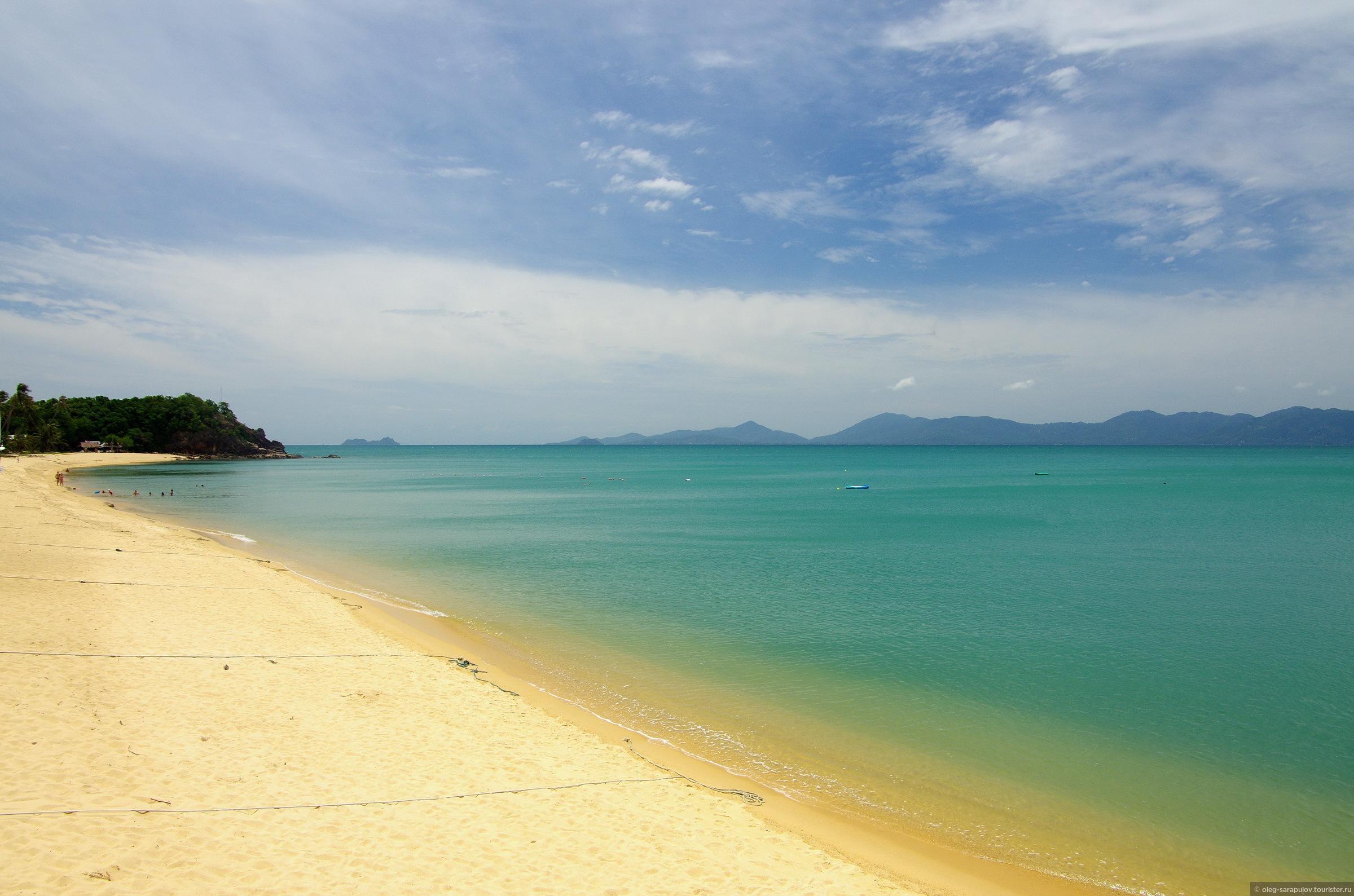 Mae Nam beach Samui, Koh Tao, Thailand