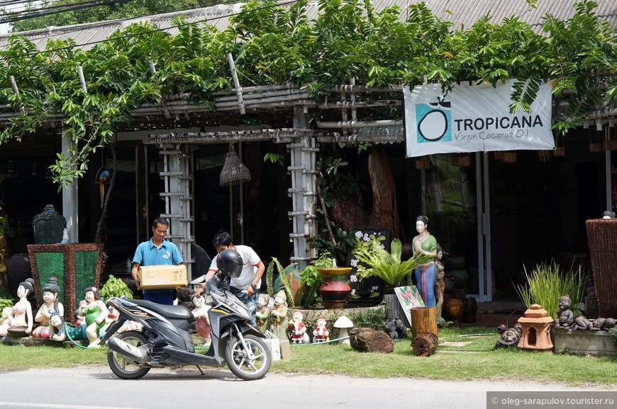 Известная торговая марка, торгующая кокосовой косметикой