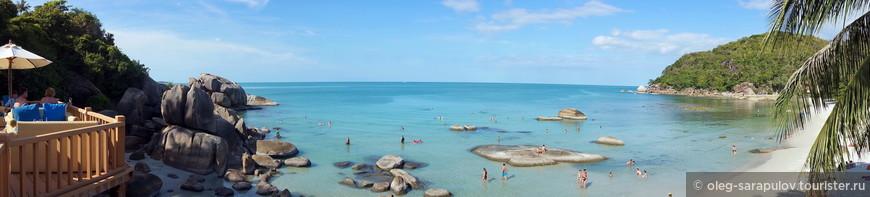 Silver beach, панорама