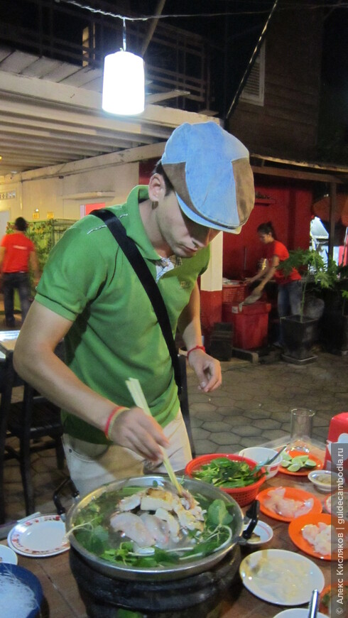 Сием Реап. Кхмерское барбекю