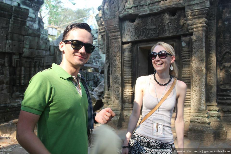 Ангкор. Храм Та Пром, Фотографии моих гостей
