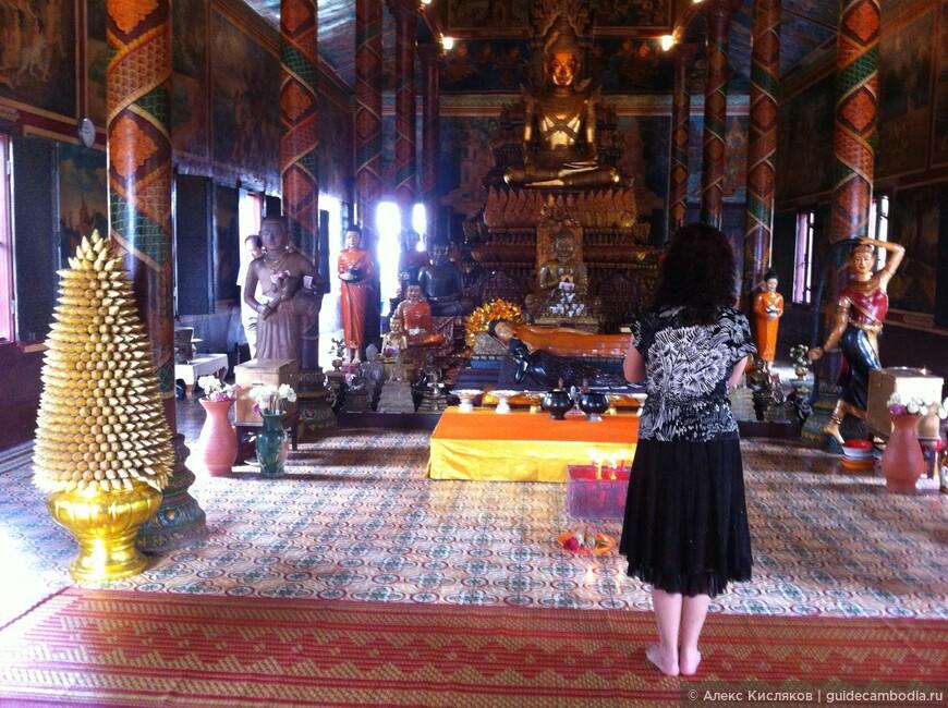 Пномпень. Ват Пном