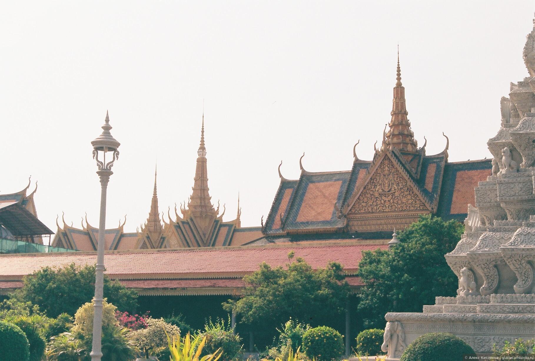 Пномпень. Королевский дворец., Фотографии моих гостей