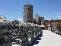 Крепость, что стоит в Ахалцихе