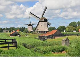 В стране ветряных мельниц (Нидерланды)