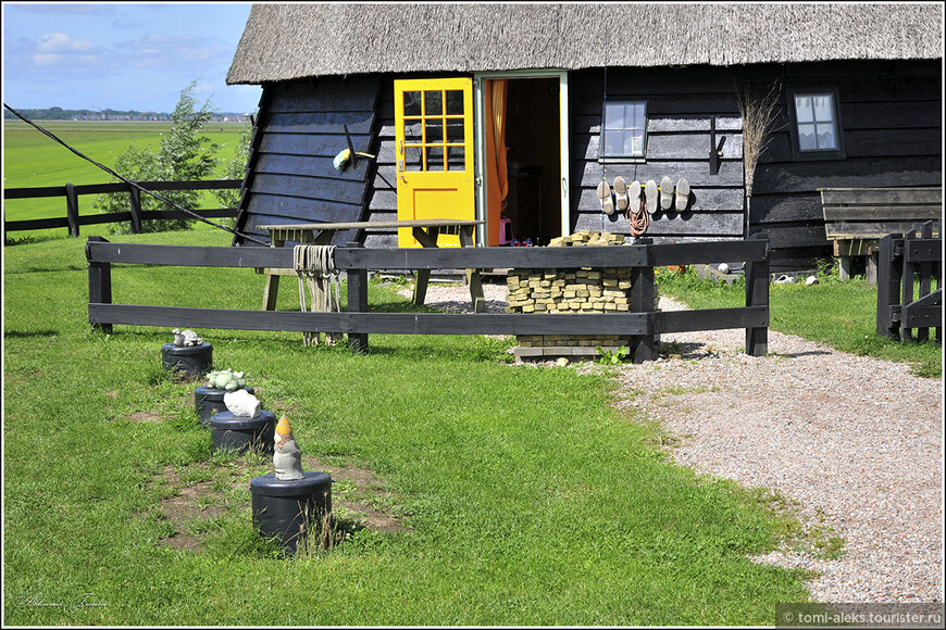 Элементы голландского быта... на мельничном подворье...