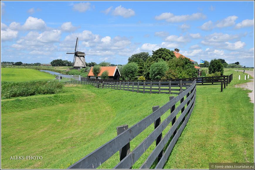 Видимо, голландцы тоже любят газонокосилки...