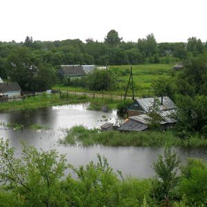 Паводок в Хабаровске.
