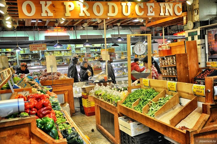Филадельфийский рынок в центре города
