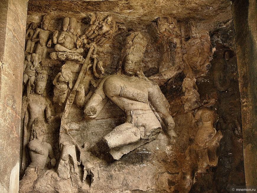 Шива Натараджа (танцующий космический танец вращающий вселенную)