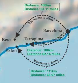 Как добраться из Салоу до Барселоны и обратно