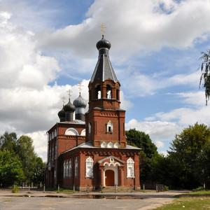 Телуша. Свято-Никольский храм