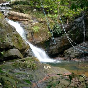 Водопад Klong Nansi.