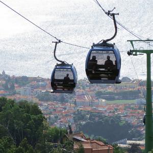 Мадейра: канатная дорога из Фуншала в Монти