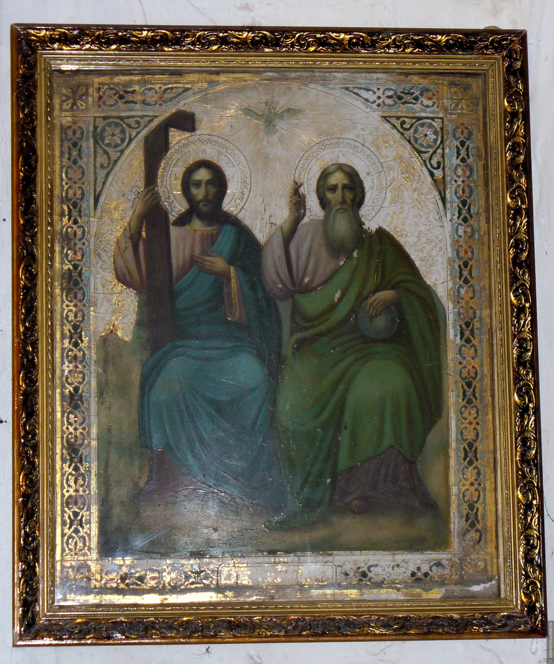закрепления глиттера фото чудотворная икона святая троица брежнева