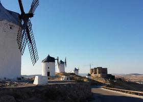 Ветряные мельницы в Консуэгра