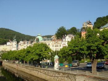 Лечебные воды Чехии